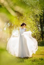 / Воздушная и летняя невеста Анастасия