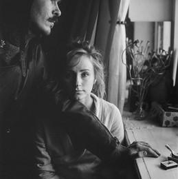Катя (портрет с Макаром) / Витебск, 2015