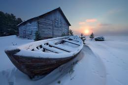 Пятничная зимовка / Пурнема, Архангельская область. Белое море