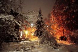 Пятничная зимовка / подальше от суеты...