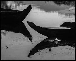 / Камбоджа. лодки.вода. жарко.