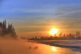 Морозный этюд декабря. / Иркутская область Казачинско-Ленский район.