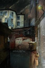 Лабиринтами Петербурга... / Работа сделана из моих фотографий отснятых в разных местах и разное время... Сводилось в PS CC..