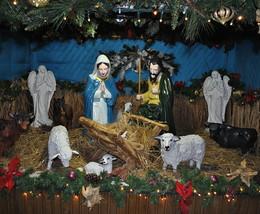 Різдвяна шопка / Різдво