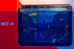 """пассажиры / Поезд называется """"Ласточка"""". МЦК. Январь, 2017 г."""