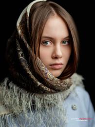 Настенька. / Студийный портрет.