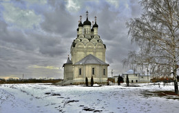 Церковь Благовещения Пресвятой Богородицы / Мытищинский р-он, село Тайнинское. Московская обл