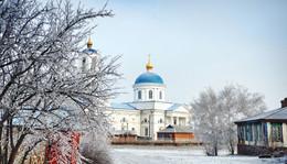 / Церковь Успения Пресвятой Богородицы. Станица Калитвенская.