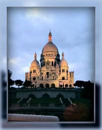 Без названия / Базилика Сакре-Кёр, Париж