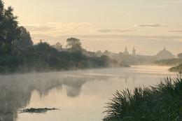 Где - то есть город, тихий как сон... / Россия. Тула. Река Упа.
