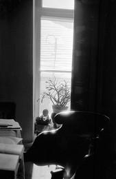 Кресло-окно-крыша / 1950-е, комната тёти Зины