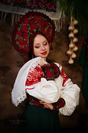 девица / фотосессия в русском стиле