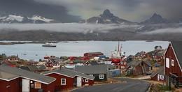 Снова замерло все... / Гренландия, город Тасиилак
