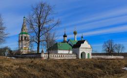Храмовый комплекс в селе Кидекша Владимирской области. / ***