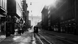 Город. Раннее утро. Весна. / Хельсинки, апрель 2017
