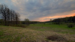 Закат на Калиновом лугу / Майские закаты.