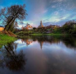 Вечерний Торжок / на берегу реки Тверца