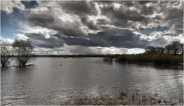 Приближение шторма / Пойма реки Друть