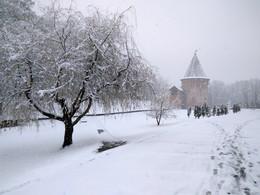 Весенние метаморфзы / В нашем городе ...снег