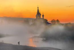 фотограф в тумане... / Дунилово май 2017