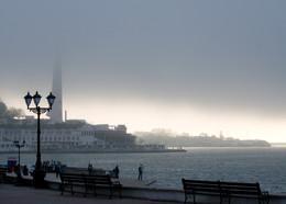 Мохнатый туман / Севастополь набережная