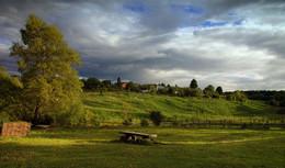 Июньское ненастье / Поздний вечер в Ясной поляне.