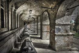 Старые стены / Высоко-Петровский ставропигиальный мужской монастырь. г.Москва