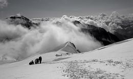 Дальняя даль / Алтай, ледник Менсу