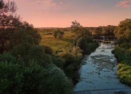 Июньские зарисовки / Вечер на реке