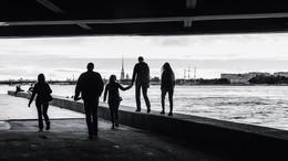 Прогулка под мостами... / Петербург, 2017, почти лето...