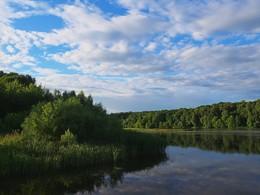 Под небом голубым... / Старый пруд и графский парк