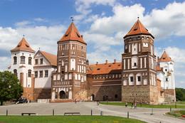 *Мирский замок** / Замок в посёлке Мир в Беларусии