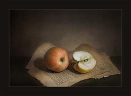 полтора яблока / завтрак графомана