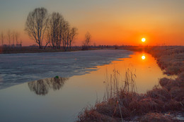 Закат на озере местного значения / ***