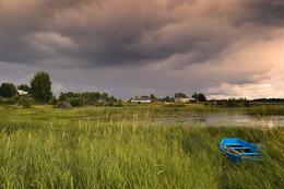 После дождя на рыбалку / Грозовые дни лета.