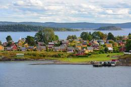деревня по Норвежски / жизнь на шхерах в Осло-фьорд