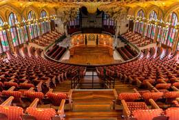 Особый взгляд / Барселонский дворец музыки