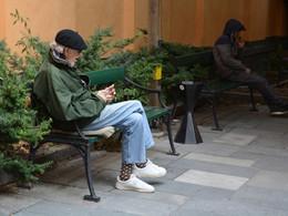 Старость по шведски / Пенсионер в Стокгольме