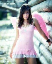 Без названия / Раскрывая тему розового ангелочка.