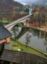 В дозоре. / Осень. Дождь.Локет.Мост.Макет.