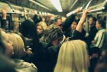 с работы / ...общественный транспорт
