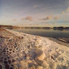 Невский простор... / ещё одна зимняя... с набережной Петропавловской крепости...