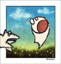 Scream / ФШ и планшет. Баловство)