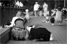 парковая зарисовка / или как фотографировать детей ;)