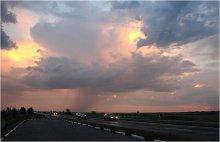 Рождение летних ливней / Трасса Е-95. Около 250 км. до Одессы.