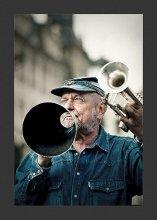 "JazzMan... / Из серии ""Уличные Музыканты..."""