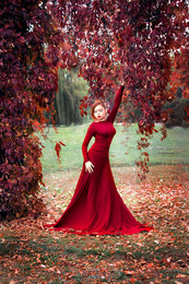 Красная осень / В полном разгаре багряная осень...