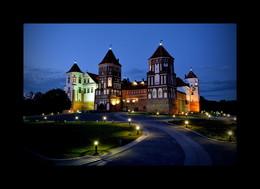 ночь-Мирский замок / путешествие-лето