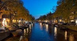 Город спит / Вечерний Амстердам