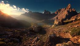 Дорогу осилит идущий(с) / Из фототура по Доломитовым Альпам. https://mikhaliuk.com/Phototour-Alps-Tre-Cime-di-Lavaredo/